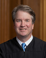 Official portrait of U.S. Supreme Court Justice Brett M. Kavanaugh