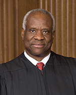 Official portrait of U.S. Supreme Court Justice Clarence Thomas