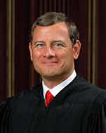 Official portrait of U.S. Supreme Court Justice John G. Roberts