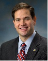 Official portrait of U.S. Senator Marco Rubio