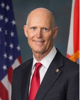 Official portrait of U.S. Senator Rick Scott
