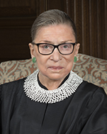 Official portrait of U.S. Supreme Court Justice Ruth Bader Ginsburg