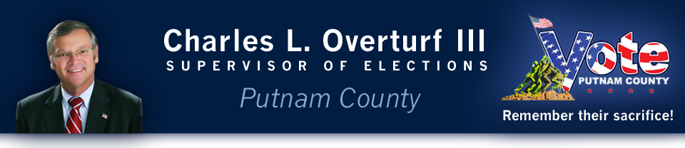 Charles L. Overturf the third Putnam County Supervisor of Elections